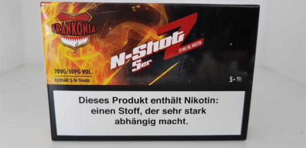 N-Shot Nikotin 20mg VPG 70/30  5 x 10ml